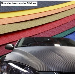 """Normandie Stickers"" Coloris Carbon"