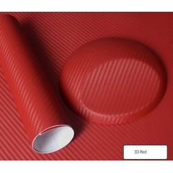 Effet Carbon 3D Rouge