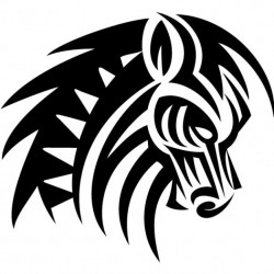 Stickers Cheval 12