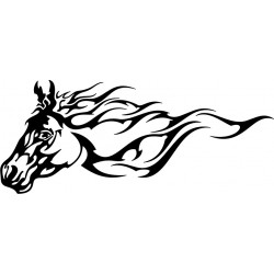 Stickers Cheval 6