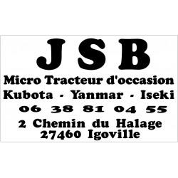 Etiquette Becher Location N/B