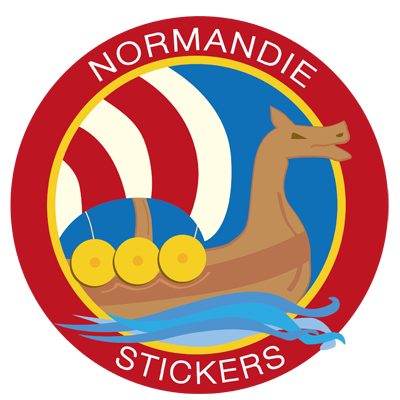 Normandie Stickers