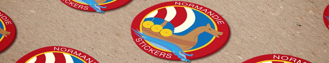 Nouveau stickers aux couleurs Normandie Stickers